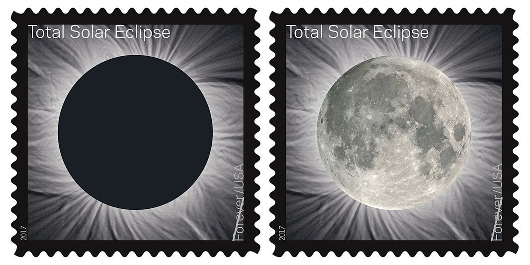 Total Eclipse of the Sun, Forever® stamp