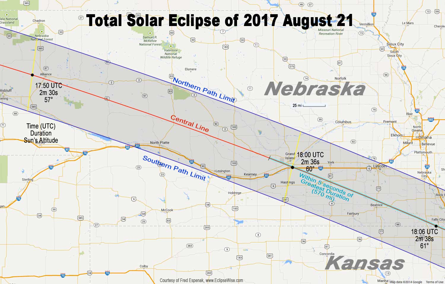 Total Eclipse of the Sun: August 21, 2017